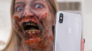 failzoom.com - Zombie vs iPhone X Face ID