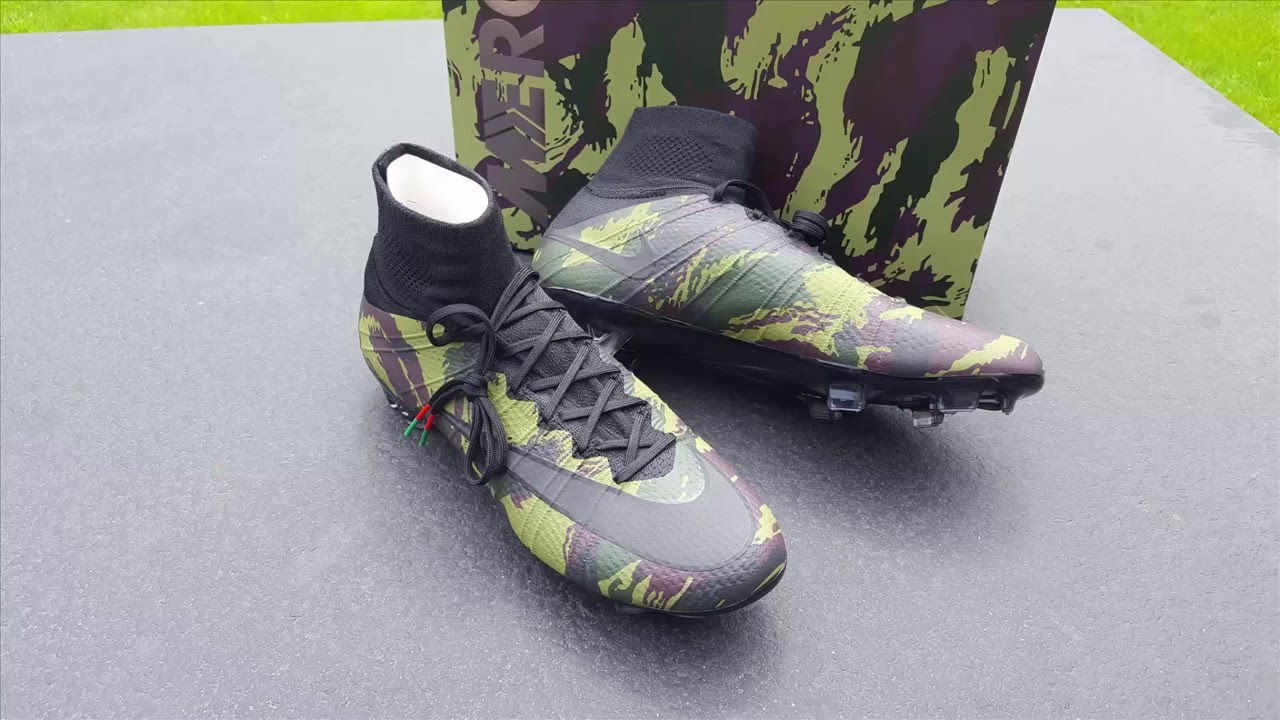uk cheap sale check out lower price with Nike Mercurial Superfly Camo Pack F300 - UNBOXING