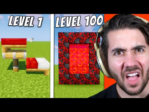 Minecraft Life Hacks From Level 1 to Level 100