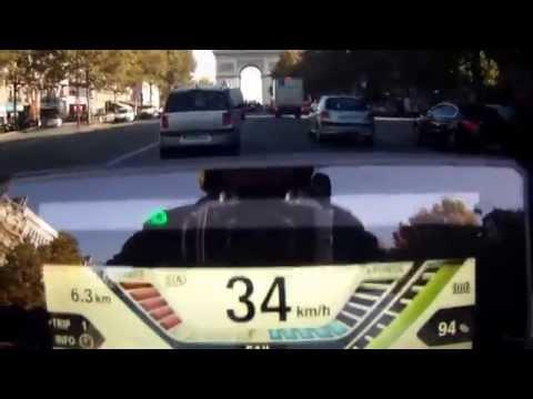BMW C Evolution - Bois de Boulogne & Paris