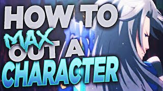 Grand Summoners - How To Max Out The Stats Of A Character