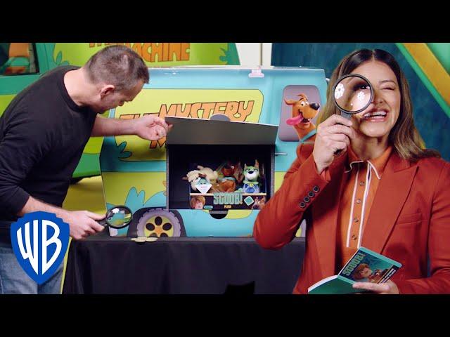 SCOOB! Basic Fun Toy Unboxing   WB Kids
