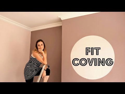 Fitting Coving: Bedroom Makeover | The Carpenter's Daughter