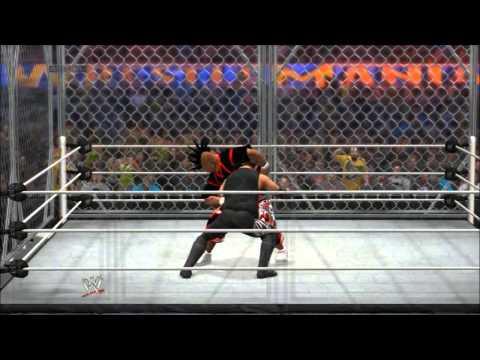 WWE2k14 Online: oX-XI-H34T-IX-Xo vs Legendary-_-N9NE (PS3)