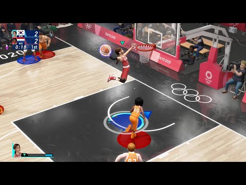 Olympic Games Tokyo 2020: The Official Video Game Gameplay - Basketball |