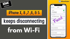 iPhone X, 7, 8, 6, & 5 keeps disconnecting from wifi? here's the fix