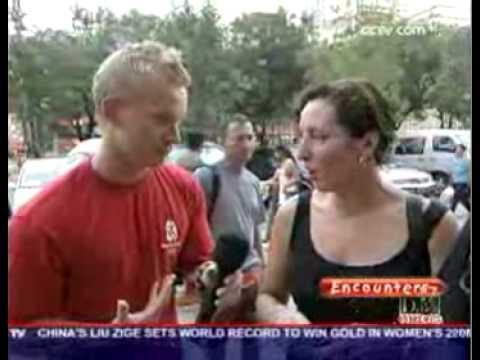Beijing Olympics Interviews@Silk street:CCTV-International's 'Encounters' program with Tom Shanahan