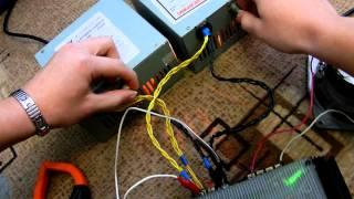 Параллельное соединение Компьютерных БП .MOV