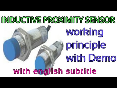 Inductive proximity sensor(PNP) working principle with live demo in hindi