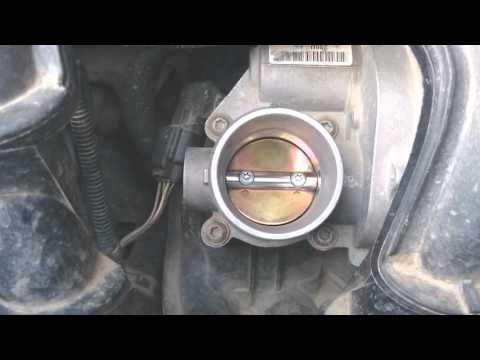 Дроссель Ford Fusion чистка, калибровка и настройки.