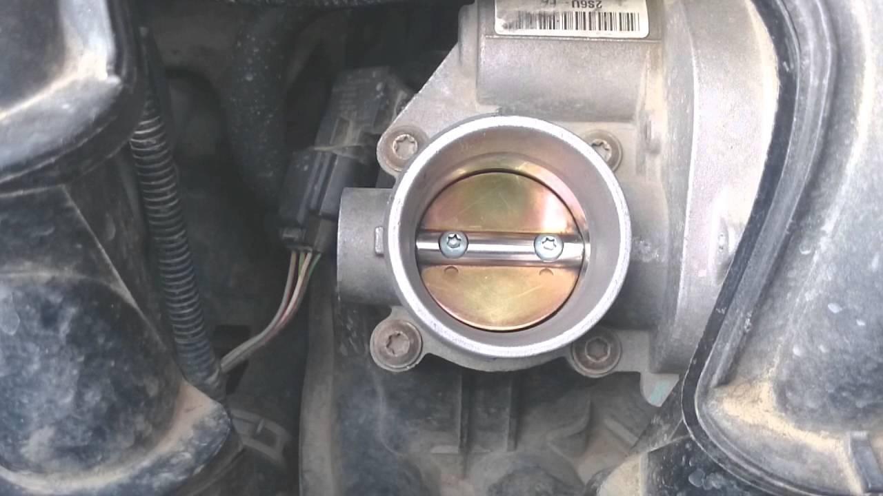 Дроссель Ford Fusion - чистка, калибровка и настройки.