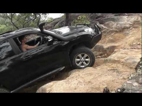 Prado 150 Rock Crawling At Wheeny Creek / Gees Arm South