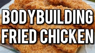 Easy Bodybuilding Oven Fried Chicken
