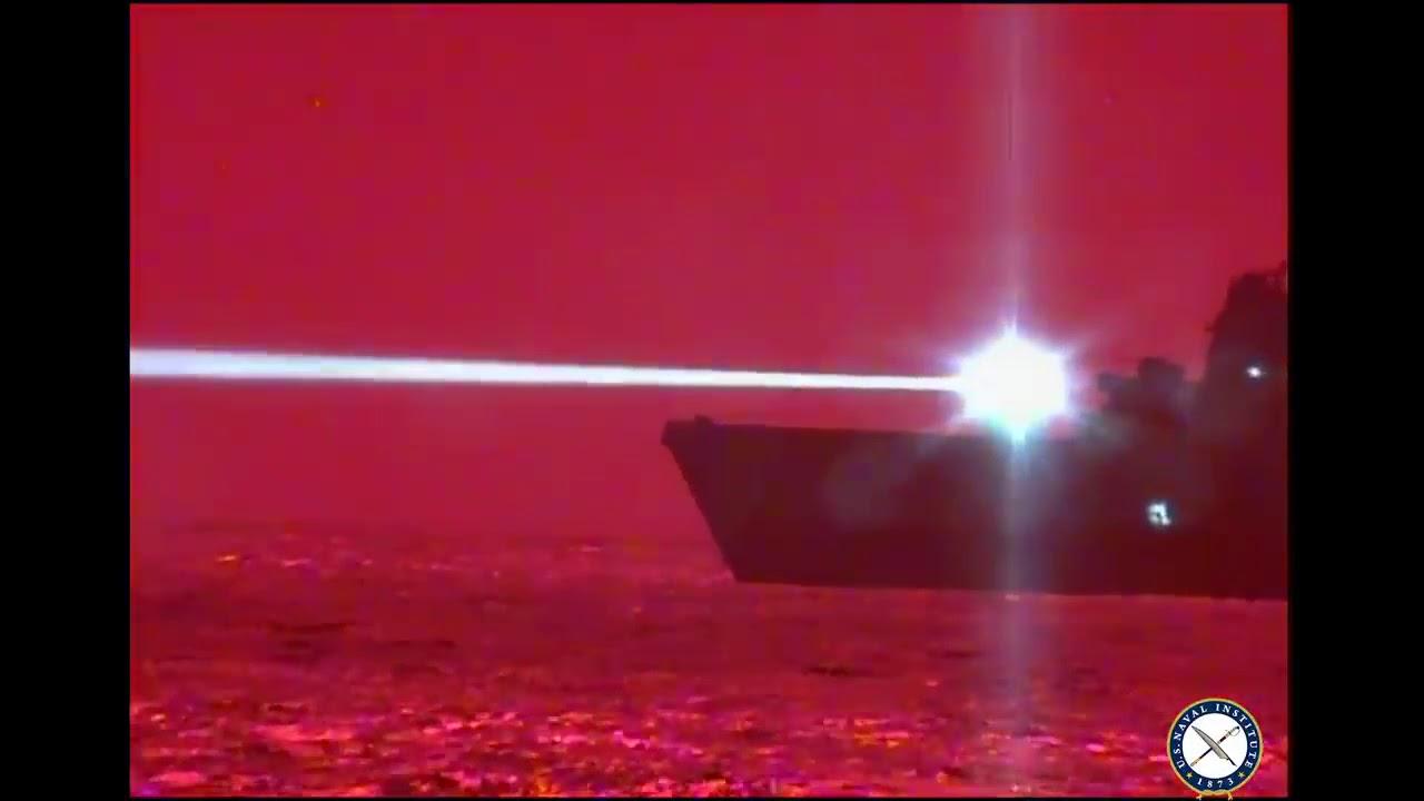 شاهد سلاح ليزر امريكي قادر على تدمير الطائرات  في الجو