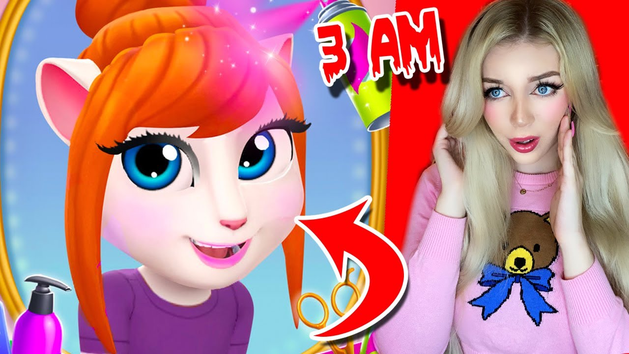 Testing The Creepy Talking Angela 2 Apps Theory *WARNING DO NOT DOWNLOAD* Part 2