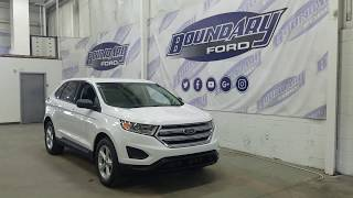 2018 Ford Edge SE W/ 2.0L EcoBoost, Keyless Entry Overview | Boundary Ford