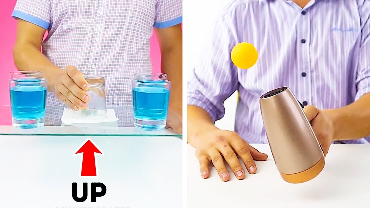 12 AWESOME MAGIC TRICKS YOU WON'T BELIEVE ARE REAL