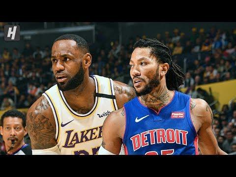 Detroit Pistons vs Los Angeles Lakers – Full Game Highlights | January 5, 2020 | 2019-20 NBA Season
