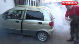 Белый дым из глушителя: частный случай.