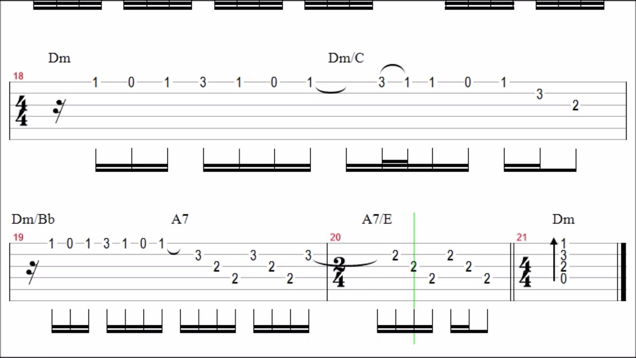Scorpions Holiday Guitar Solo Tab Backingtrack Youtube