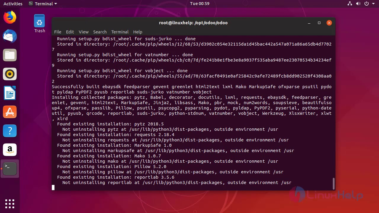 How to Install Odoo 12 On Ubuntu 18 10