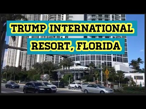 Tham Quan Trump International Resort , Sunny Isles Beach Florida