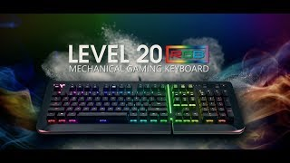 Thermaltake Level 20 RGB Gaming Keyboard