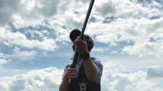 Clay shooting diary - Simulated game shooting with a .410 shotgun