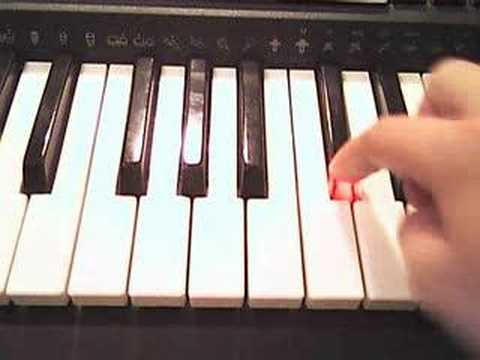 How to play Final Countdown on Piano