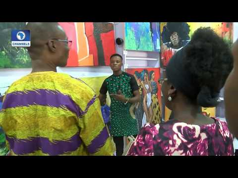 Young Artist Jideonwor Udoka Host Solo Show At Vivid Gallery |Art House|