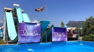 Slip N Fly Water Slide at Dolusu Park in Antalya Kemer