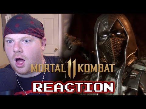 Noob Saibot Reveal - MK 11 - Krimson KB Reacts