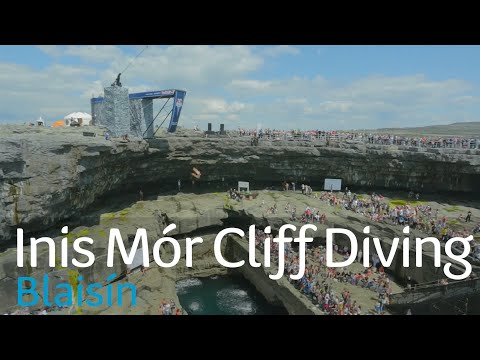 Inis Mór Cliff Diving Dé Domhnaigh 9/7 4.20pm