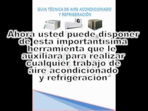 Manual de aire acondicionado y refrigeraci n gratis youtube for Manual aire acondicionado