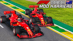 F1 2020 MOD KARRIERE #1: Melbourne, Australien GP | Formel 1 2019 4K Gameplay