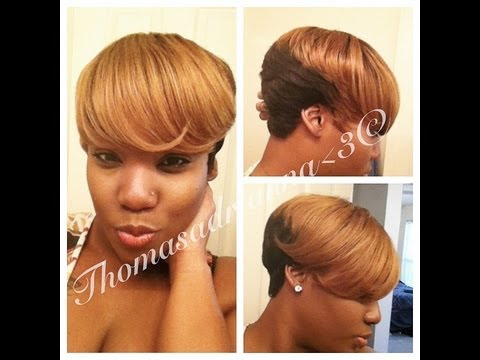 Chanda's 27 pc. Quick Weave Wig-Styled~ | Doovi
