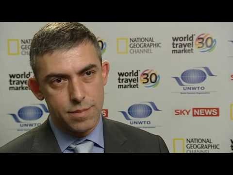 WTM 2009 Interviews - Mr Sorin Munteanu - Secretary of State, lead the ministry for Tourism Romania