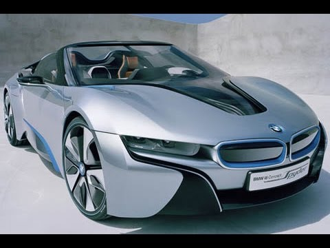 2014 New Bmw I8 Spyder Concept Interior Youtube
