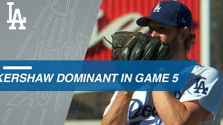 Clayton Kershaw's dominant performance in pivotal Game 5