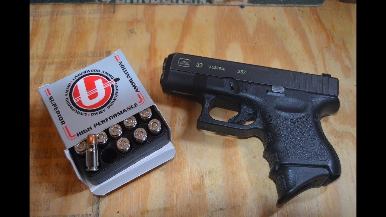 Underwood Ammunition 357 sig 125 grain