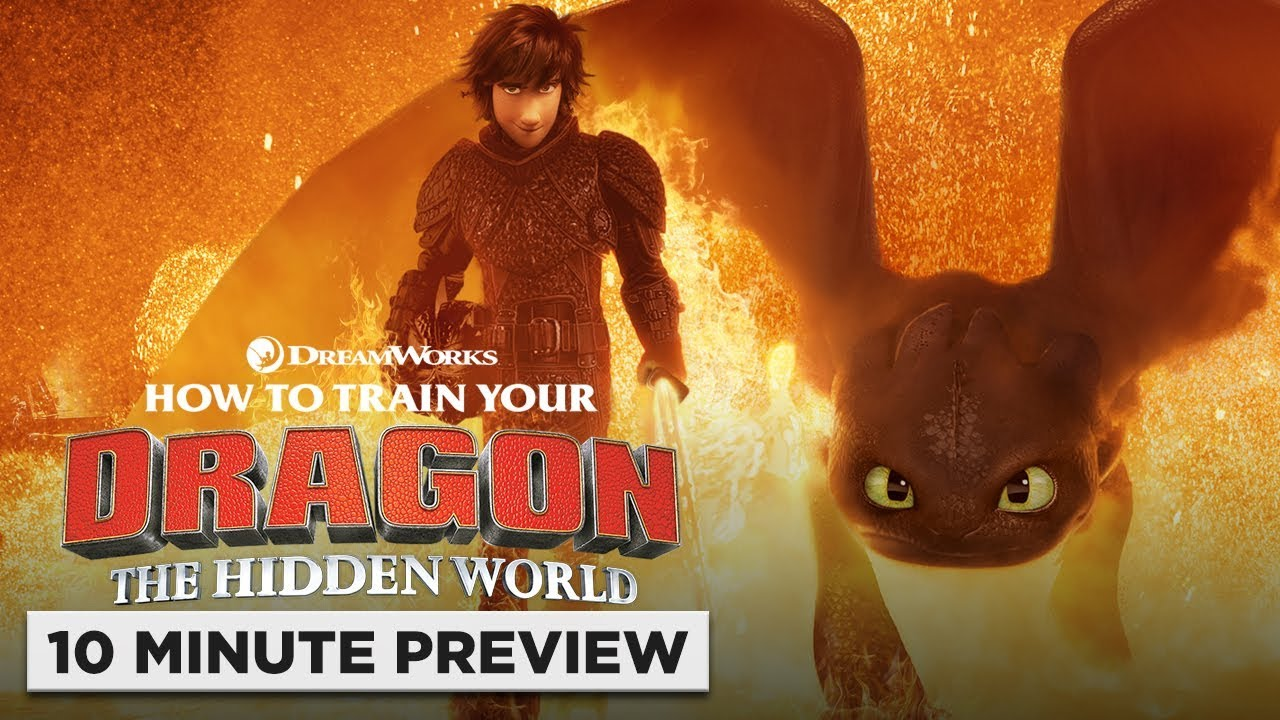 How To Train Your Dragon The Hidden World 10 Minute Preview Now On 4k Blu Ray Dvd Digital Youtube