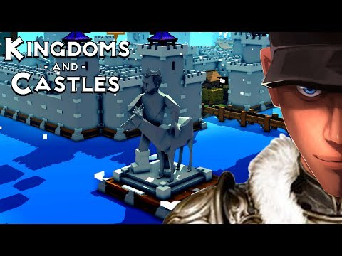 Kingdoms and Castles STATUE OF LORD LEVI Magical Forest | Let's Play Kingdoms and Castles Gameplay