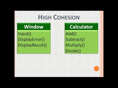 Cohesion and Coupling Tutorial