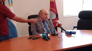Video: Conferencia de Prensa Dr. Abel Cornejo