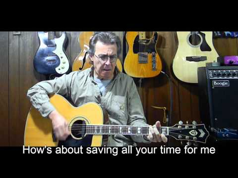 Hey Good Looking with Lyrics & Chords - Hank Williams  Cover  C41