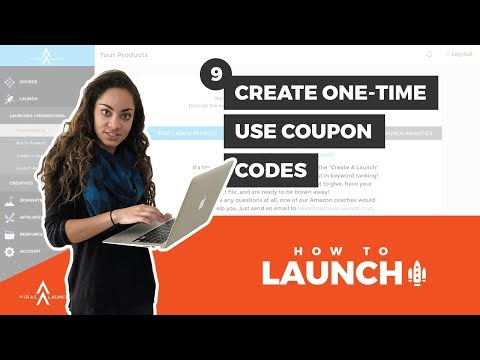 How to Launch: Create One-Time Use Amazon Coupon Codes for Viral Launch (9)