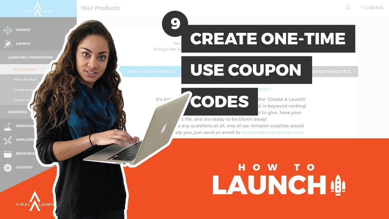 Viral launch coupon code