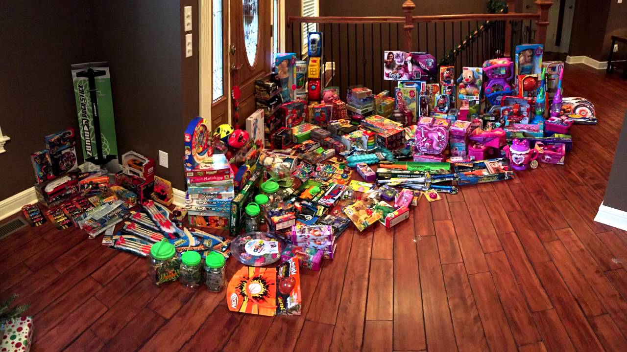 Christmas Toys.2 100 Spent On Toys For Kids Merry Christmas