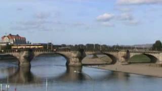 Tourisme Allemagne : Dresde vue du pont