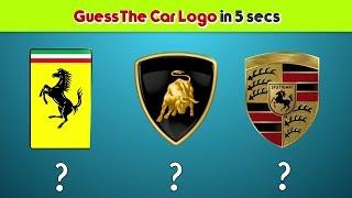 Luxury Car Logo Quiz | 8 Out of 10 Adults Fail This Super Car Logo Quiz | FlyPoo